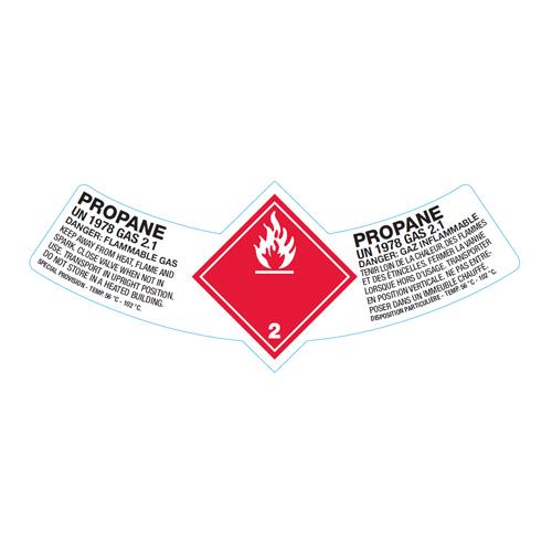 Étiquettes cylindres