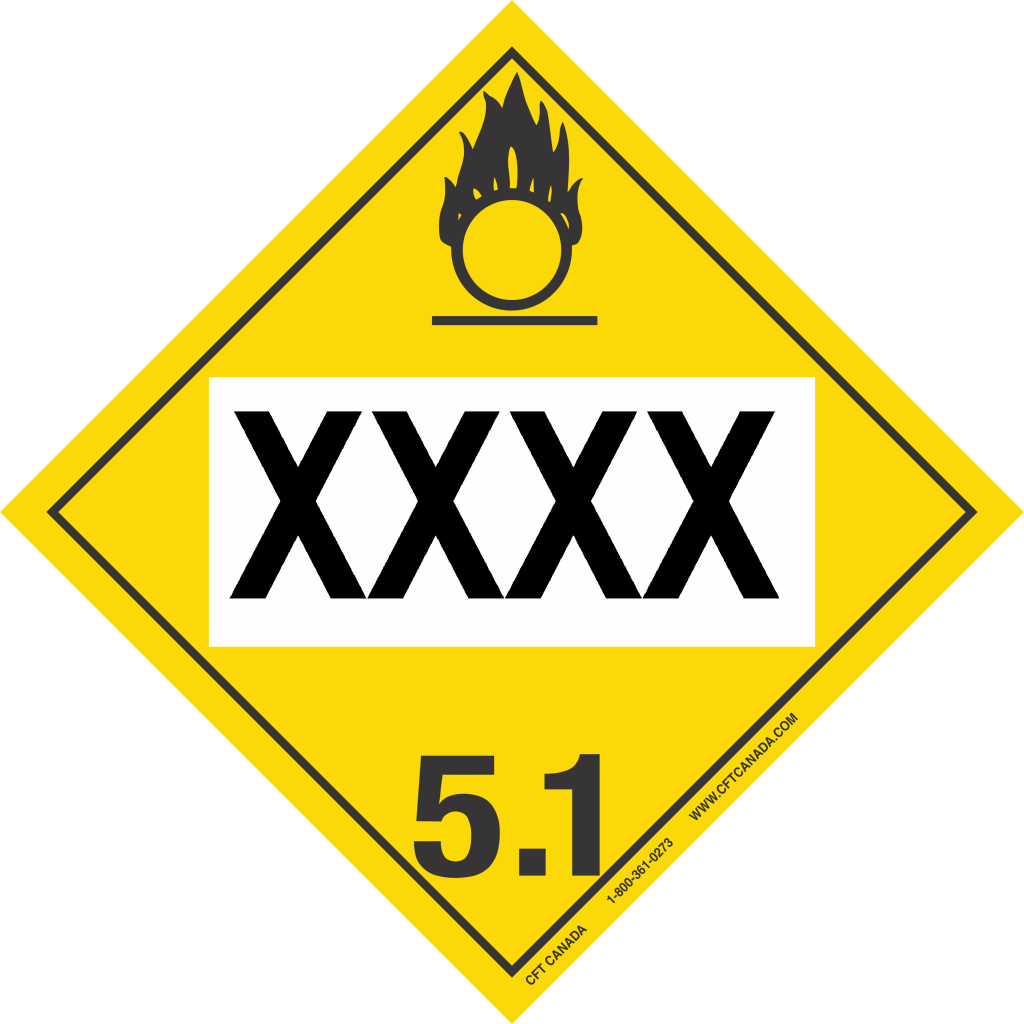 Class 51 Oxidizing Substances Archives Cft Canada