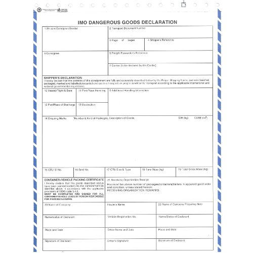 Shipping forms Archives - CFT Canada