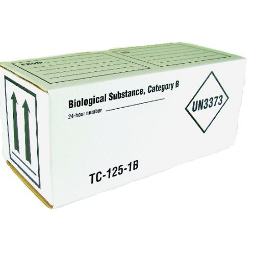 Boîte ambiante pour matière biologique catégorie B (02-BTEBIO)