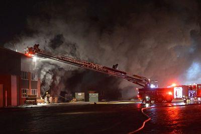 Un violent incendie frappe à nouveau SamaN