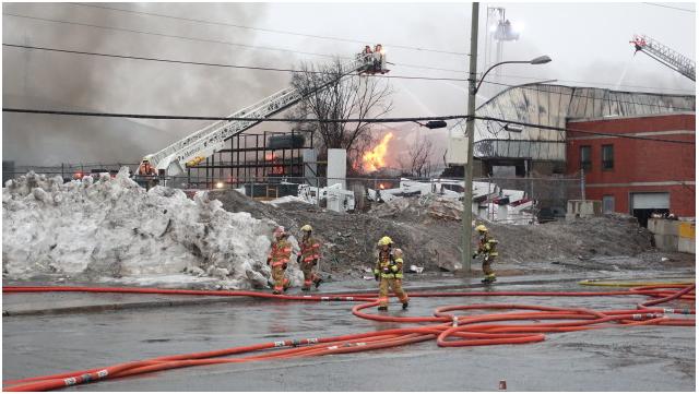 Incendie : une entreprise d'Anjou part en fumée