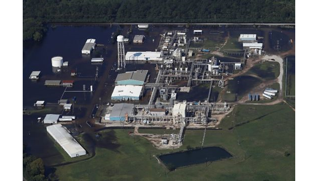 Incendie dans une usine de produits chimiques à Houston, Texas