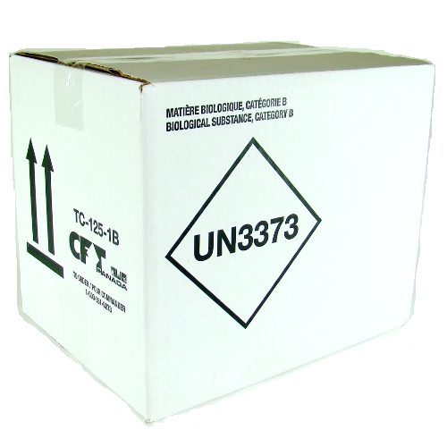Biological Subtance Category B Shipper with Insulated Cooler (02-INF1B)