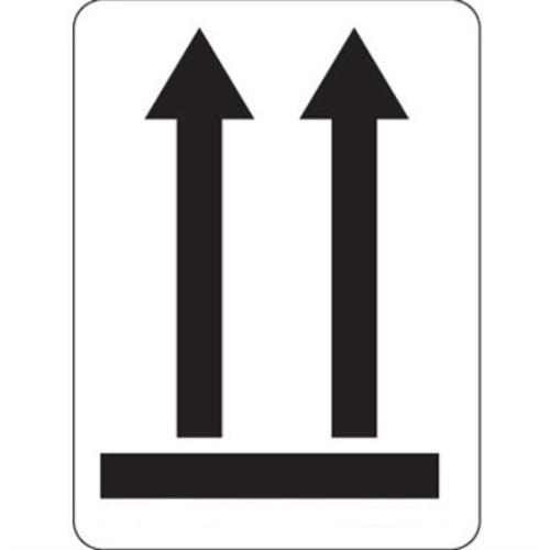 Étiquette Flèches noires sans contour