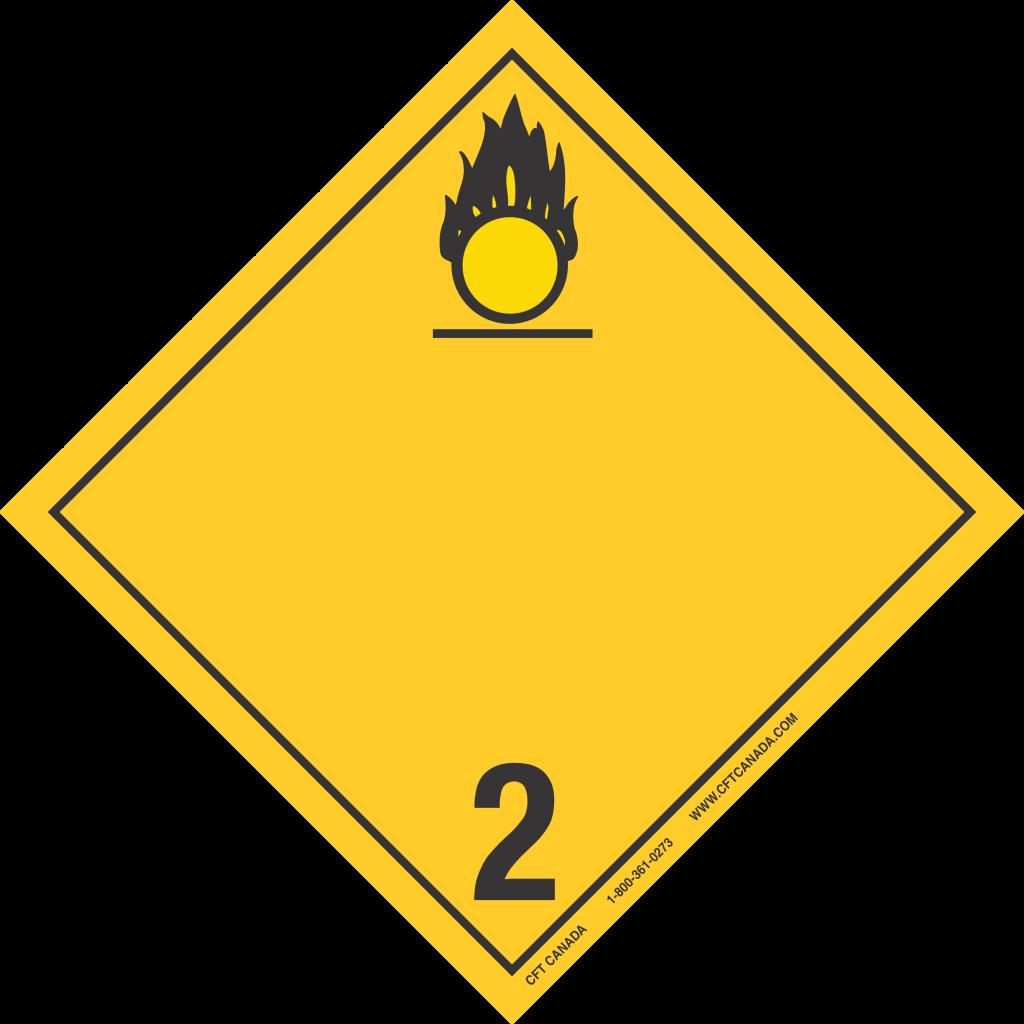 Class 2.2 Oxidizing Int
