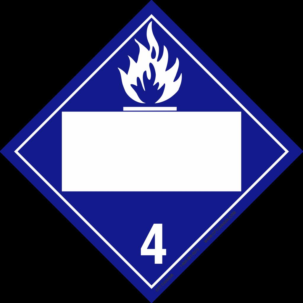 Class 4.3 Int Blank