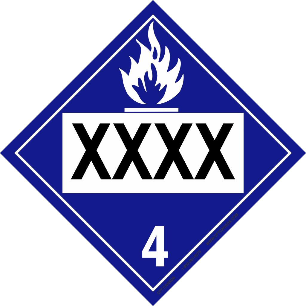 Class 4.3 Int XXXX