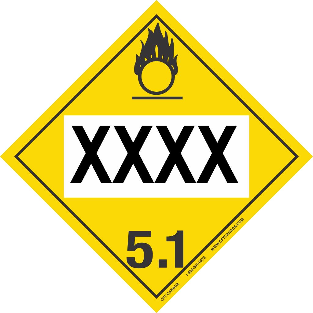 Class 5.1 Int XXXX