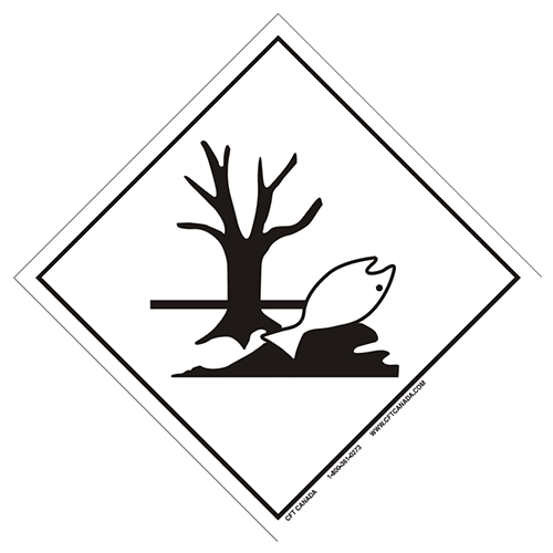 Environmentally Hazardous Substance Placard