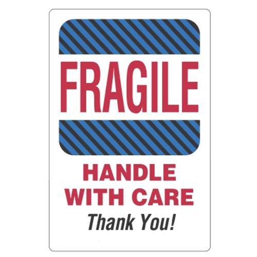Étiquettes Fragile handle with care