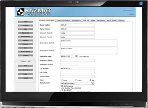 Ordinateur Hazmat System