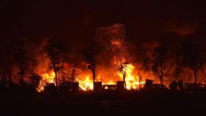 Grave explosion en Chine