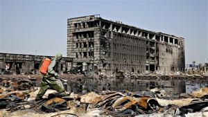 12 arrestations suite à l'explosion de Tianjin