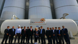 Opening of the largest plant of succinic acid in Ontario