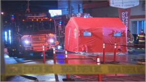 Acid leak in Sherbrooke