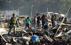 Many killed in fireworks explosion in Mexico