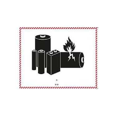 Étiquettes Batteries au lithium ion – Nouveau