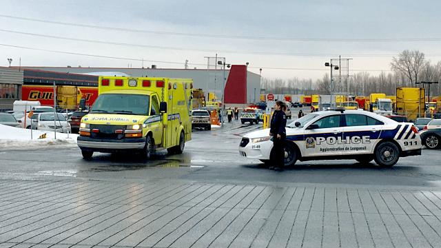 Déversement de matières dangereuses à Boucherville (Hospitalisation)