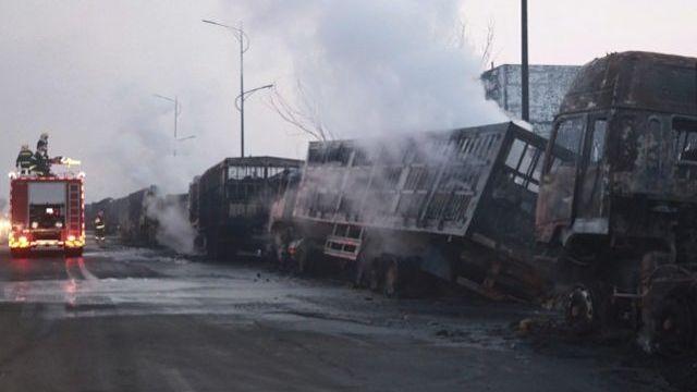 Plus de 22 morts dans une explosion en chine