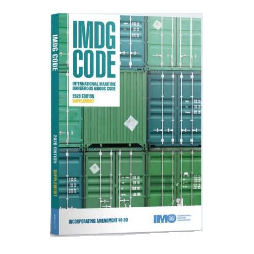 International Maritime Dangerous Goods Code (IMDG CODE) – Supplement