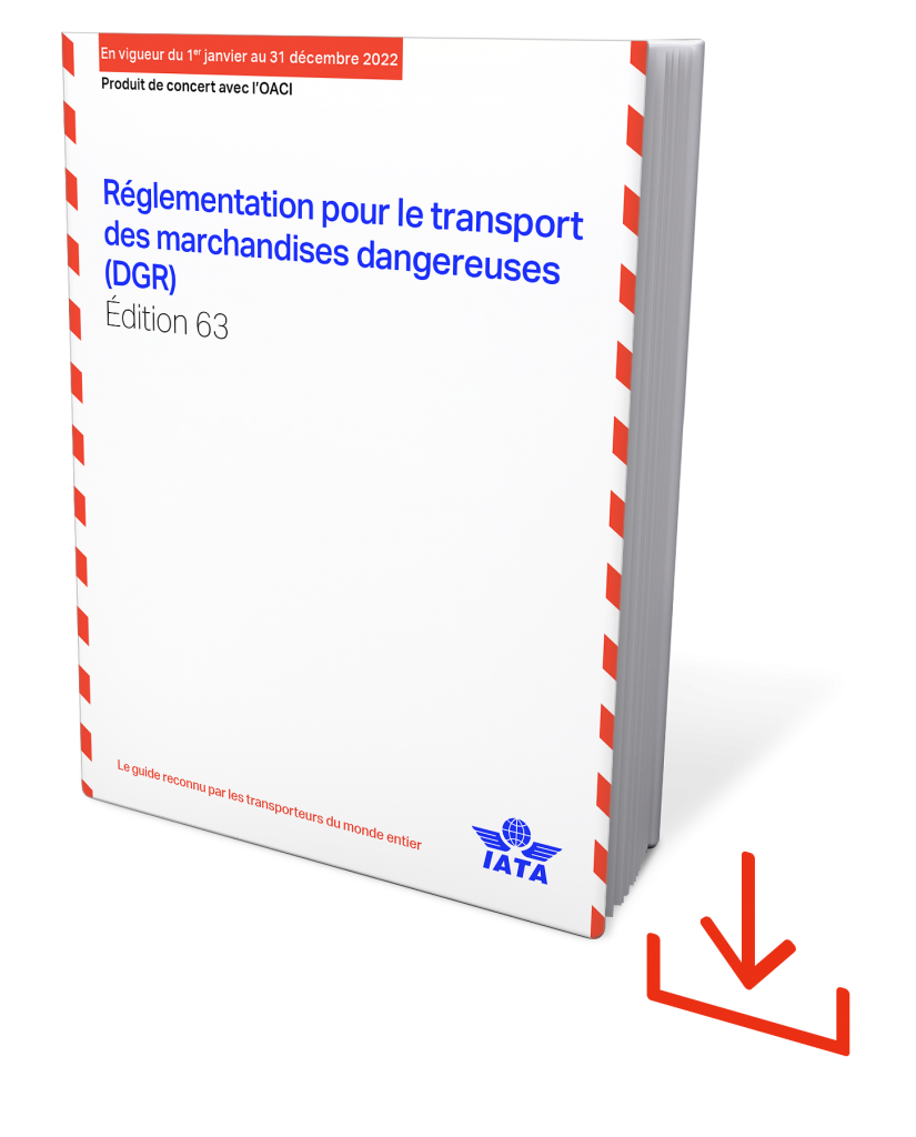 eDGR – Téléchargement du règlement IATA